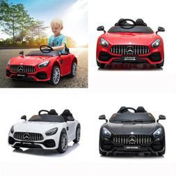 Electric 12V Kids Ride On Car Mercedes Benz Battery LED Ligh