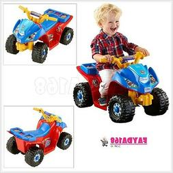 Electric Car Power Wheels Patrol Toy Vehicle Driver Developm