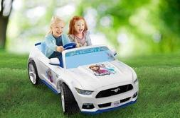 Electric Cars For Kids To Ride On Disney Frozen Ford Mustang