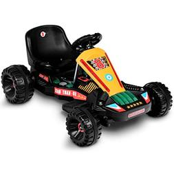 Costzon Electric Go Carts for Kids, 6V Battery Powered Child