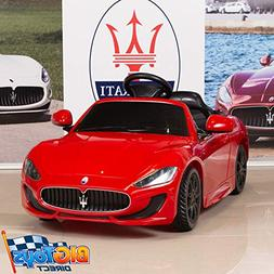 BIG TOYS DIRECT 12V Electric Kids Ride On Car Maserati GranC