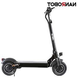 """NANROBOT Electric Scooter 10"""" Tires-40 MPH and up to 45 Mile"""