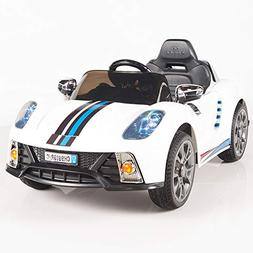 EuroPacific Brands 12V Ride On Car Kids W/ MP3 Electric Batt