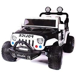 Explorer 2  Seater 12V Power Children Ride-On Car Truck with