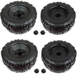Power Wheels F-150 Left & Right Wheel  Set of 4 Wheels