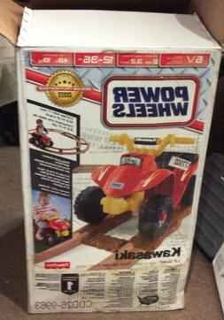 Fisher-Price Power Wheels Kawasaki Lil' Quad with Track