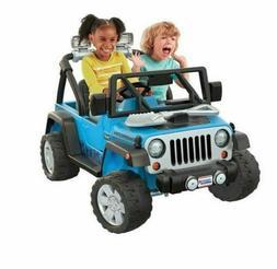 Fp Fisher-Price Power Wheels Deluxe Jeep Rubicon Wrangler 12