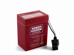 Fisher Price 6 Volt Red Power Wheels Battery