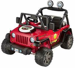 Power Wheels BBQ Fun Jeep Wrangler 12V Battery powered Ride