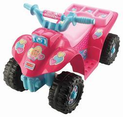Fisher-Price Power Wheels ATV Barbie Princess Lil' Quad Todd