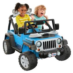 Fisher-Price Power Wheels Deluxe Jeep Rubicon Wrangler 12V R