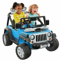fisher price power wheels deluxe jeep rubicon