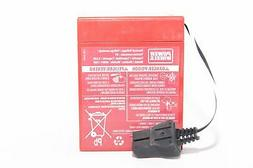 Fisher Price Power Wheels Red Super 6V 9.6AH Battery 00801-0