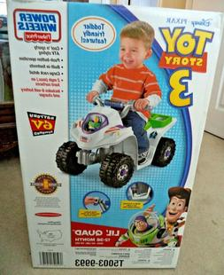 FISHER PRICE TOY STORY 3 POWER WHEELS LIL QUAD T5003 2010 *N