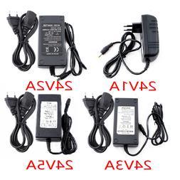 <font><b>Power</b></font> Adapter AC to DC 24V 1A 2A 3A 5A C