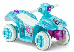 Kid Trax Frozen 6V Toddler Quad Ride On Blue Max speed 1.5 4