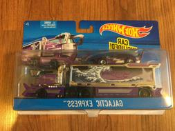 Hot Wheels GALACTIC EXPRESS Hauler Transporter Truck & Car S
