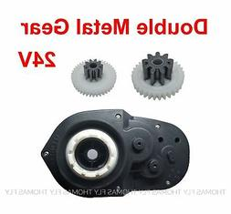 Gearbox for Kids Power Wheels Accessories 24V 30000RPM Elect