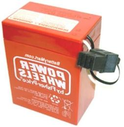 Genuine Fisher Price Power Wheels 6 Volt Rechargeable Batter
