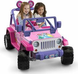 Power Wheels For Girls Jeep Wrangler Princess Motorized Vehi