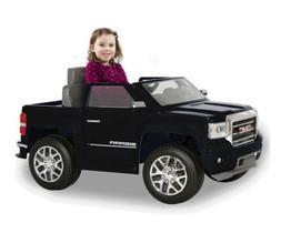 Rollplay GMC Sierra Denali 6-Volt Battery Ride-On - Black **