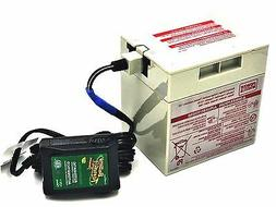 Power Wheels Gray 12 Volt Battery  and Automatic Battery Ten