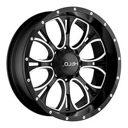 Helo HE879 Wheel with Gloss Black Milled