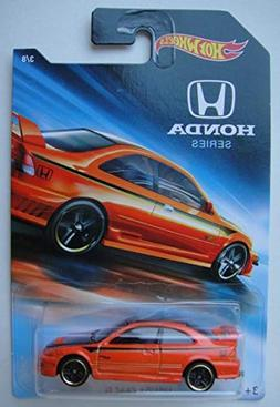 Hot Wheels Honda Series 2018 Release, Orange Honda Civic SI