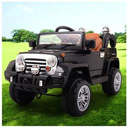 12V Jeep style Kids Ride on Truck Battery Powered Electric C