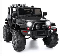 Jeep Wrangler 12 Volt Ride On Truck Parental Remote Control