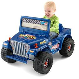 Power Wheels Hot Wheels Jeep Wrangler, Blue