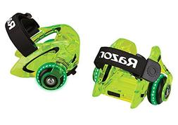 Razor Jetts DLX Heel Wheels Neon Green Frustration-Free Pack