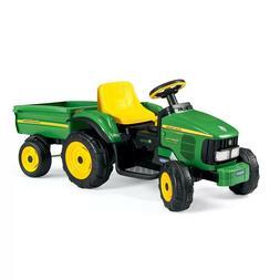 💥Peg Perego John Deere 6V Power Pull Tractor Green💥