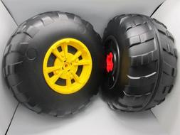 John Deere Peg Perego Gator XUV Rear Wheel Set  Left & Right