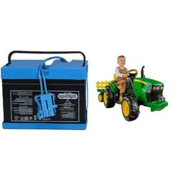 Peg Perego John Deere Ground Force Tractor with Trailer with