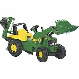 John Deere Pedal Loader with Backhoe Ride-On