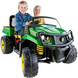 John Deere Power Wheels Tractor Peg Perego Ride On Toys Gree