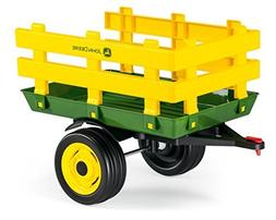 Peg Perego John Deere Stakeside Trailer Ride On, Green by Pe