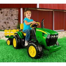 Peg Perego John Deere Tractor with Trailer IGOR0039