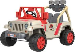 Jurassic Park Jeep World Wrangler 12 Volt Dinosaur Vehicle A