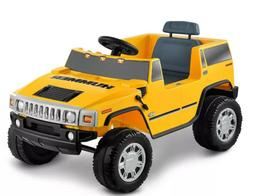 Kid Motorz Hummer H2 6V Ride On - Yellow kids ride ages 3 -