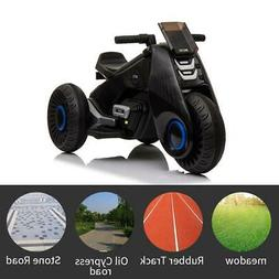 Kids 3 Wheel Electric Motorcycle Car 6V Bike Battery Power R