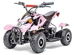 Rosso Motors Kids ATV Kids Quad 4 Wheeler Ride On with 500W