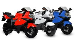 BMW Motorcycle 12V Kids Battery Powered Ride On Car