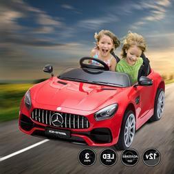 Kids Mercedes Benz Ride On Car Electric 12V Power Wheels Rem
