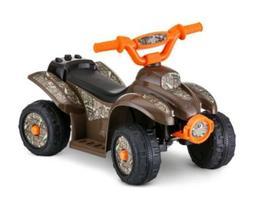 Kids Mossy Oak 4 Wheeler Trike Ride On Power Wheels 12v Camo