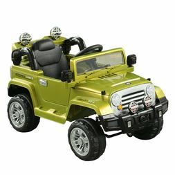 Kids Ride On Battery Power Wheels Car Electric Toy Jeep 12V