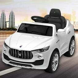 Maserati Style 6V Kids Ride On Car Electric Power Wheels Rem