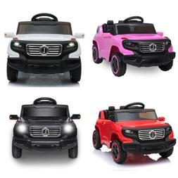 LEADZM Kids Ride on Car Toys 6V Battery Power Wheels Music L