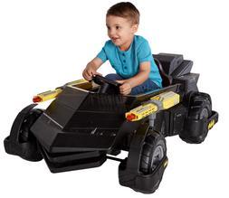Kids Ride-On Electronic Car Batmobile Rideon, 6V Battery